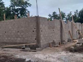 SANDEGUE - Nouvelle Brigade de Gendarmerie en construction