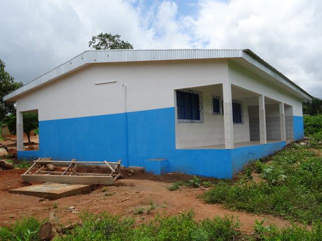 DIEDOU-PAMBASSO (SP Transua) - Construction d'une maternité