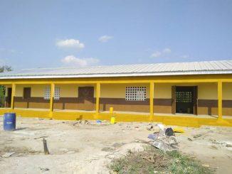 DJEMPOUNIDOUO (SP Laoudi-Ba) - 3 Salles de classe + Bureau