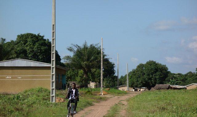 LOGONDE (SP Sandegué) - Travaux d'électrification
