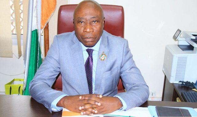 M. KOSSONOU KOUASSI IGNACE (Président du Conseil Régional du Gontougo)